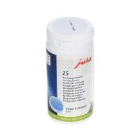 Jura чистящие таблетки 25 штук 62535