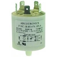 Сетевой фильтр Arcotronics Saeco Gaggia (конденсатор) б/у 184651100