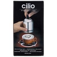 Cilio декоративный шоколадный шейкер с тремя мотивами 1094905