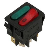 Выключатель 2-контактный цвет красный 16А для La Pavoni 435063